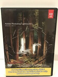 Adobe Photoshop Lightroom 5 09258-Eng JCK Windows / Mac OS New Read Description