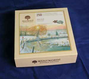 Wentworth Wooden Jigsaw Puzzle Titled Winter Stroll 250 Pieces