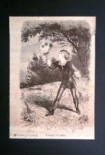 Dalle Novellette Meravigliose - Il regalo di nozze Incisione del 1876