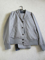 """Paul Smith PS Button Front Grey Check Jacket """"PROM"""" Suit"""