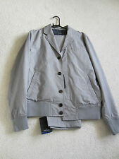 Paul Smith PS Button Front Grey Check Jacket Suit - Size M - BNWT