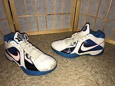 OG Nike Zoom KD III 3 WHITE Orange Photo Blue Durant OKC Home SZ 10.5 RARE QS