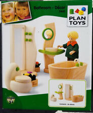PLAN TOYS DECOR Furniture Bathroom Dollhouse for Doll House