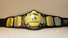 WWF Classic Gold Winged Eagle Championship Belt Adult Size