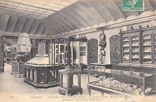 Carte postale ancienne ISERE GRENOBLE musée salle Léopold-Jourdan timbrée