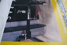 TOW BAR MOUNT 3-BIKE CARRIER - TILTS, LOCKS Quality RHINO-RACK Product ONLY $149