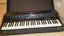 Crumar Organizer T1 Vintage Organ Synthesizer Keyboard Analog Transistor ITALY