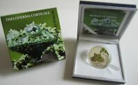 Palau 2 Dollars 2011 World of Frogs Theloderma Corticale Silver