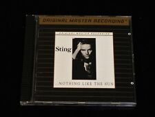 MFSL 546-Sting-...Nothing Like The Sun Gold Audiophile Japan CD-NEAR MINT!