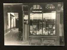 Photograph Social History Chemist Drug Store Shop Window 1940s-1950s