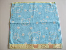 NEW!! Rilakkuma Kawaii Hand Towel/35×35cm/Blue