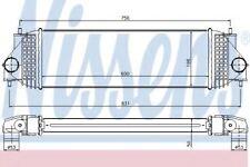 Brand New Intercooler for SUZUKI 96525 Nissens Top Quality