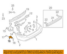SUBARU OEM 03-08 Forester Rear Bumper-Lower Cover Left 57731SA010