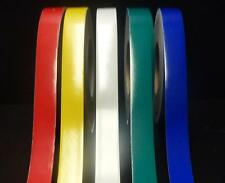 """3M"" CLASS 2 REFLECTIVE TAPE RED x 25MM x 2 METRE NEW _ 1 COLOUR"