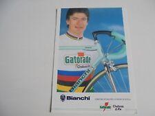 wielerkaart 1992 gianni bugno  team bianchi gatorade