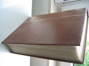 64 Seiten Bund Doublettenalbum gestempelt eng gesteckt