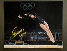 Sanne Wevers Signed 8x10 Photo Olympics Gymnast