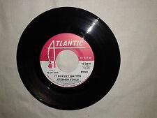 "Stephen Stills / It Doesn't Matter-Disco Vinile 45 Giri 7"" PROMO STAMPA USA 1972"