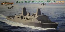 1/700 USS San Antonio LPD-17 Model Kit by Cyber-Hobby