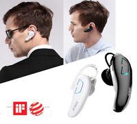 Wireless Handsfree Bluetooth Noise Cancelling Headphone Earphone For Smart Phone