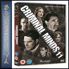 CRIMINAL MINDS - COMPLETE SEASON 11   *BRAND NEW DVD *