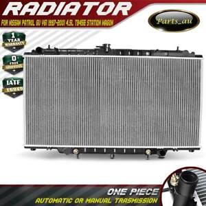 Radiator for Nissan Patrol GU Y61 1997-2001 4.5L 6cyl TB45E Automatic / Manual