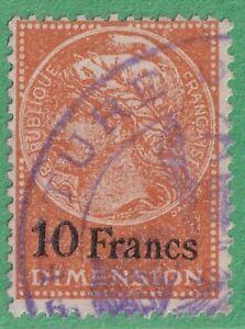 France Dimension Revenue #DI-79 used 10Fr 1922 cv $65