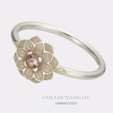 Authentic Pandora Sterling Silver Blooming Dahlia Ring Size 60 (9) 190985NBP