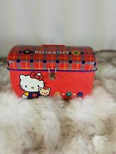 Vintage Hello Kitty Sanrio Coin Tin Saver