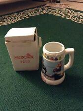2000 Saratoga Racetrack Commemorative Ceramic Stein