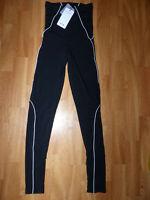 Neue AYM Figurbetonte Damen Yoga Compressions Leggings Gr XS Sporthose Sport