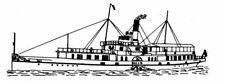 Bauplan Gallia Modellbauplan Schiffsmodell Binnenschiff