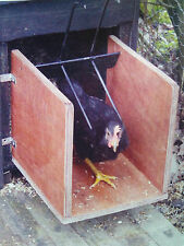 FoxStopper-New Chicken Coop Protection Device-Allows Chickens 24/7 Access