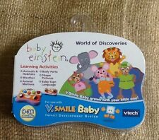 V. Smile Baby Vtech Baby Einstein World Of Discoveries Smartridge