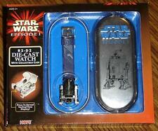 Star Wars R2–D2 Die-Cast Watch with Collector Case – Brand New