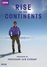 Rise of the Continents DVD R4 BBC Professor Iain Stewart New & Sealed