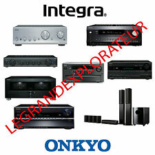 Ultimate ONKYO & INTEGRA  Repair Service manual & Schematics     830 PDF on DVD