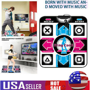 USB Non-Slip Dancing Dance Step Mat Pad for PC Laptop Household Party Game Gift