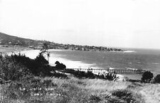 Real Photo Postcard Landscape of La Jolla near Camp Callan, California~117332
