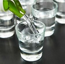 6 X Vodka Shot Glasses Fine Clear Drink Glass Bar Party Shooter 30 ml