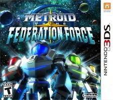 Metroid Prime Federation Force (Nintendo 3DS) Brand New/Factory Sealed