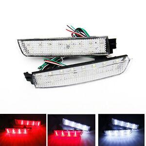 Clear Bumper Reflector LED Tail Brake Light Backup For Juke Murano Sentra FX35