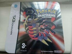 Pokemon Platinum Nintendo DS HMV Exclusive tin Giratina