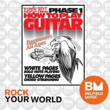 Ernie Ball 7001 Phase 1 How to Play Guitar Book Learning Beginner to All Ages