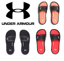 Under Armour Women's Ignite VIII Sandals Slides - NEW - FREE SHIP - 1287319 +