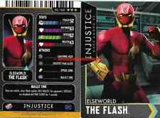 Injustice Arcade Dave and Busters Gold Card 92 The Flash NONFOIL