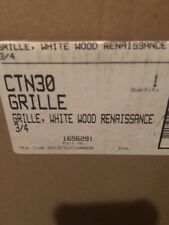 NEW Andersen Double-Hung White Wood  Renaissance Grille CTN30