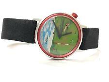 Vintage La Gear  Mechanical Windup Wrist Watch Golfing Animated Golf Ball (LAG-3