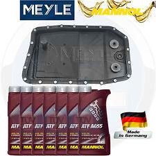 FOR BMW JAGUAR AUTOMATIC GEARBOX TRANSMISSION SUMP PAN FILTER SEAL 7L OIL KIT