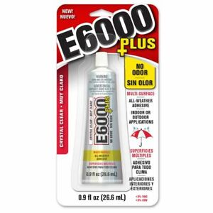 E6000 PLUS Craft Glue & Snip Tip Nozzle Jewellery,Glass,Gems,Beads,Adhesive